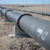ductile iron pipelines, namibia water supply